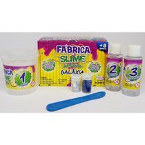 Kit Para Fazer Slime Da Acrilex Kimeleca Galaxia -