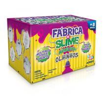 Kit Para Fazer Slime Da Acrilex Kimeleca Olhinhos -