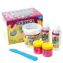 Kit Para Fazer Slime Da Acrilex Kimeleca Super Fluffy -