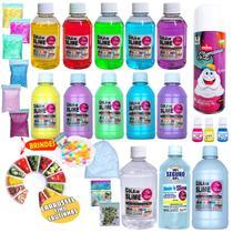 Kit Para Fazer Slime Premium Isa Slime Original - Orbeez + frutinhas -