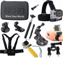 Kit para Go Pro  SJCAM Sony Xtrax e as demais câmeras de ação Mala Média Impermeável - Generico