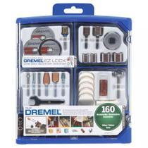 Kit para Mini Retifica DREMEL 160 Peças 710-RW2 DREMEL -