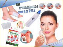 Kit Para Pele - Removedor de Cravos + 10 Adesivos Kinoki - Cuidados Com A Pele