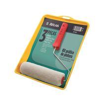 Kit para Pintura com 3 Peças - Atlas 1001 -