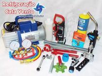 Kit Para Refrigeração e Ar Condicionado 07 - Refrigeração Cata Vento