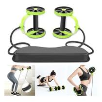 Kit para Treinos e Exercicios Fitness e Rodas Abdominais - Mbfit