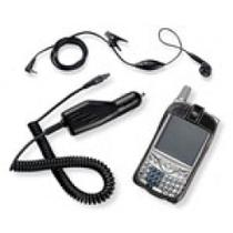 Kit para Treo 650: Carregador veicular + Headset + Estojo 3197WW - Palm