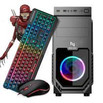 KIT - PC Gamer Neologic Motospeed NLI82175 AMD Ryzen 3 2200G 16GB (Radeon Vega 8 Integrado) SSD 120GB - Shopinfo