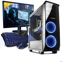 Kit pc gamer neologic nli80934 ryzen 3 2200g 8gb (geforce gtx 1050) 1tb + monitor 21,5 -