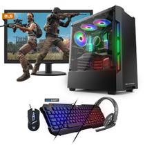 Kit PC Gamer Neologic NLI81530 Ryzen 3 2200G 8GB (RX 570 4GB) 1TB + Monitor 21,5 -