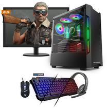 Kit PC Gamer Neologic NLI81531 Ryzen 3 2200G 8GB (RX 570 4GB) SSD 240GB + Monitor 21,5 -