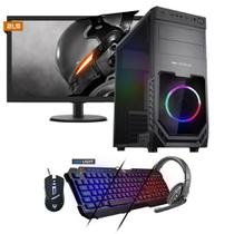 Kit PC Gamer Neologic NLI81534 Ryzen 3 2200G 8GB (RX 570 4GB) SSD 240GB + Monitor 21,5 -