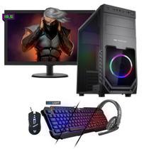 Kit PC Gamer Neologic NLI81548 Ryzen 5 2400G 8GB (RX 570 4GB) 1TB + Monitor 19,5 -