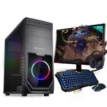 Kit PC Gamer Neologic Start NLI81418 Ryzen 3 2200G 8GB ( Radeon Vega 8 Integrado) SSD 480GB + Monitor 21,5 -