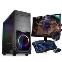 Kit PC Gamer Neologic Start NLI81418 Ryzen 3 2200G 8GB ( Radeon Vega 8 Integrado) SSD 480GB + Monitor 21,5 -