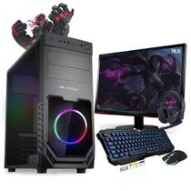 Kit PC Gamer Neologic Start NLI81428 Ryzen 3 2200G 8GB ( Radeon Vega 8 Integrado) 1TB + Monitor 19,5 -