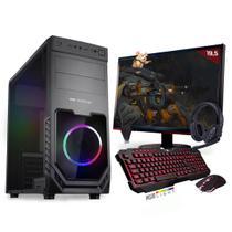Kit PC Gamer Neologic Start NLI81429 Ryzen 3 2200G 8GB ( Radeon Vega 8 Integrado) SSD 240GB + Monitor 19,5 -