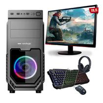"Kit PC Gamer Neologic Start NLI81623 Ryzen 3 3200G 8GB (Radeon Vega 8 Integrado) SSD 240GB + Mon 19,5"" -"