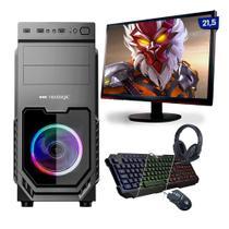 "Kit PC Gamer Neologic Start NLI81626 Ryzen 3 3200G 8GB (Radeon Vega 8 Integrado) 1TB + Mon 21,5"" -"