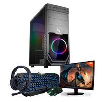 Kit - Pc Gamer Neologic Start NLI81827 AMD 3000G 8GB (Radeon Vega 3 Integrado) 1TB + Monitor 19,5 -