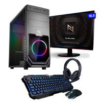 Kit - PC Gamer Smart NLI82564 AMD A6-7480 16GB (Radeon R5 Integrado) HD 1TB 400W 80 Plus + Monitor 19,5 - NEOLOGIC