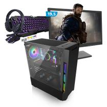 Kit PC Gamer Smart SMT81485 Intel i5 8GB (RX 580 8GB) 1TB + Monitor 19,5 - Neologic