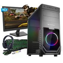 Kit PC Gamer Smart SMT81488 Intel i5 8GB (RX 580 8GB) 1TB + Monitor 19,5 - Neologic