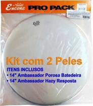 Kit Pele Caixa 14 Porosa + 14 Resposta Encore By Remo + Nfe -