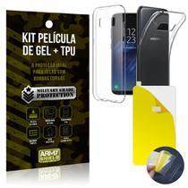 Kit Película de Gel + Capa TPU Samsung Galaxy S8  - Armyshield -