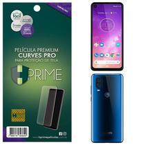 Kit Película HPrime Frente + Verso para Motorola One Vision - Curves Pro -