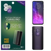 Kit Película HPrime Frente + Verso para Motorola One Zoom - Curves Pro -
