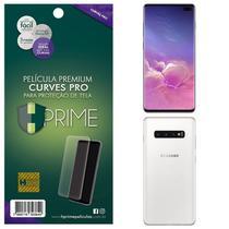 Kit Película HPrime Frente + Verso para Samsung Galaxy S10 Plus - Curves Pro -