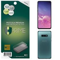 Kit Película HPrime Frente + Verso para Samsung Galaxy S10E - Pet Invisível -
