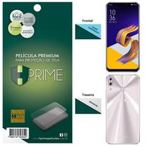Kit Película HPrime para Asus Zenfone 5 ZE620KL / 5Z ZS620KL  Frontal de Vidro Temperado + Verso Pet Invisível -