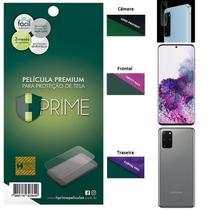 Kit Película HPrime para Galaxy S20+ Plus 6.7  Frontal + Verso + Lens Protect / Câmera -