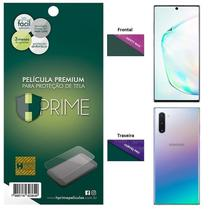 Kit Película HPrime para Samsung Galaxy Note 10 6.3  Frontal Safety Max + Verso Curves Pro -