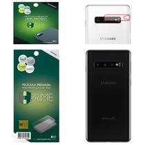 Kit Película HPrime para Samsung Galaxy S10 6.1  Traseira Pet Invisível + Lens Protect / Câmera -