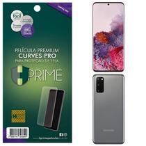 Kit Película HPrime para Samsung Galaxy S20 6.2  Frontal + Verso Curves Pro -