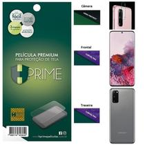 Kit Película HPrime para Samsung Galaxy S20 6.2  Frontal + Verso + Lens Protect / Câmera -