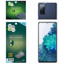Kit Película HPrime para Samsung Galaxy S20 FE (Fan Edition)  Frontal de Vidro Temperado + Lens Protect / Câmera -