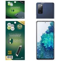 Kit Película HPrime para Samsung Galaxy S20 FE (Fan Edition)  Frontal Nanoshield + Lens Protect / Câmera -