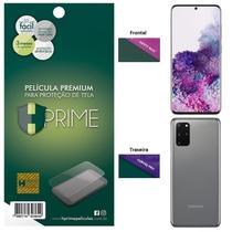 Kit Película HPrime para Samsung Galaxy S20+ Plus 6.7  Frontal Safety Max + Verso Curves Pro -