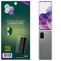Kit Película HPrime para Samsung Galaxy S20+ Plus 6.7  Frontal + Verso Curves Pro -