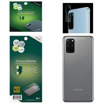Kit Película HPrime para Samsung Galaxy S20+ Plus 6.7  Traseira Pet Invisível + Lens Protect / Câmera -