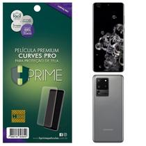 Kit Película HPrime para Samsung Galaxy S20 Ultra 6.9  Frontal + Verso Curves Pro -