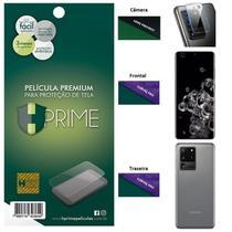 Kit Película HPrime para Samsung Galaxy S20 Ultra 6.9  Frontal + Verso + Lens Protect / Câmera -