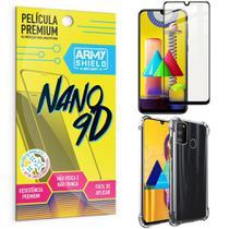 Kit Película Premium Nano 9D para Galaxy M31 + Capa Anti Impacto - Armyshield -