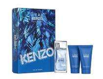 Kit Perfume Kenzo L Eau Par Kenzo Masculino EDT 50ml + Shower Gel 2x 50ml -