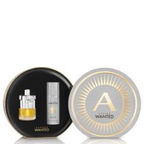 Kit Perfume Masculino Wanted Azzaro Eau de Toilette 100ml + Desodorante 150ml -