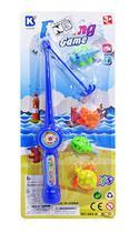 Kit Pescaria Varinha Pega Peixe com 4 Peças Fishing Game - 20 comercial